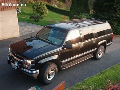 Chevrolet suburban 2500 1999
