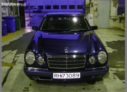 Mercedes-benz e-klasse e200 1998