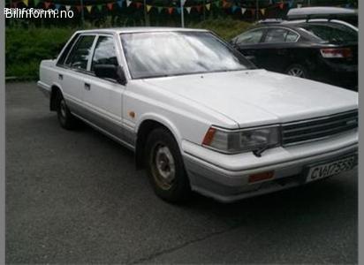 Nissan laurel 2,4 e slx 1987