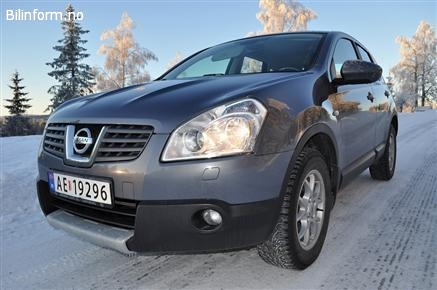 Nissan qashqai 1.6 2007, 75 000 km