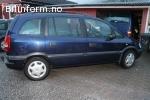 Opel zafira 2001, 174 763 km