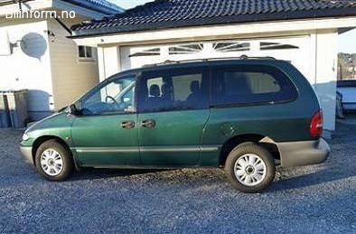 Chrysler grand voyager se 1997