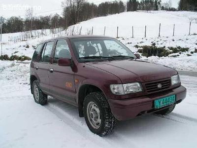 Kia Sportage 4X4 MRDI Varebil 2,0