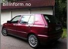 Volkswagen golf 1996, 230 000 km